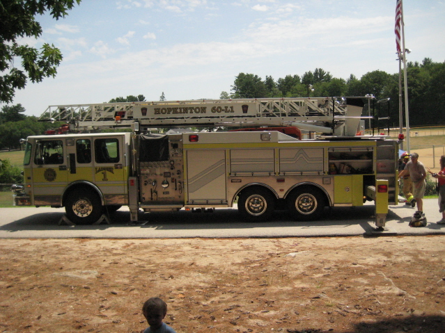 Hopkinton Fire Truck