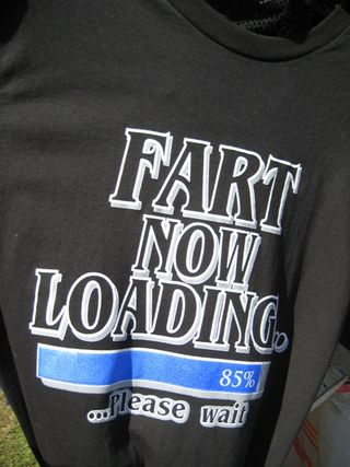 Fart Now Loading shirt