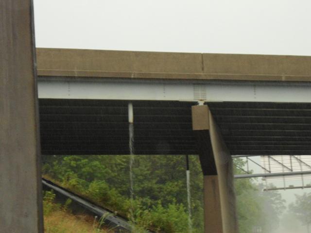 Water off overpass
