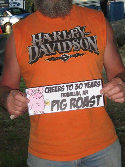 Pig roast camp
