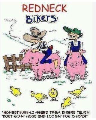 Redneck biker