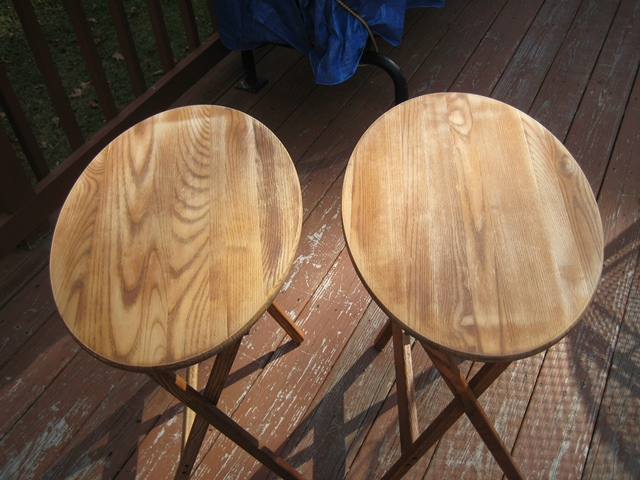 Tables sanded