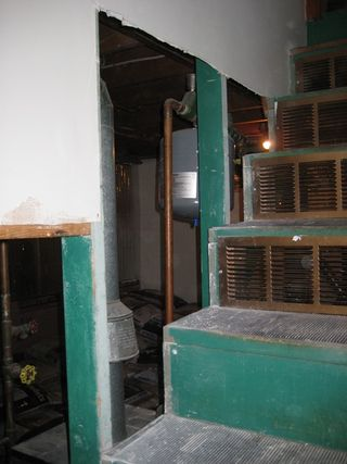 Stairwall Open