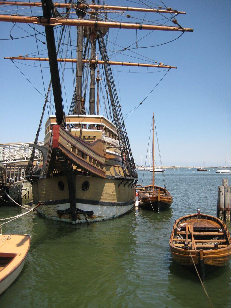 Mayflower-closer headon