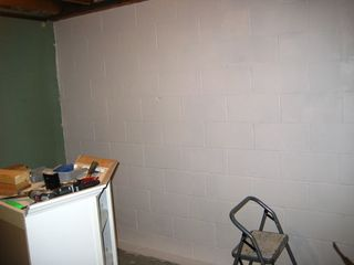 Gym Foundation Wall New Paint