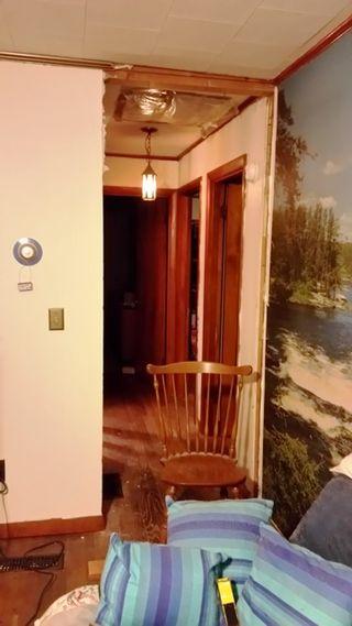 Hallway header removed