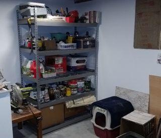 New shelves loaded