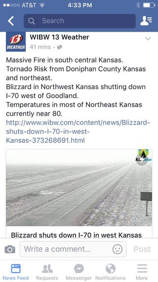 Kansas Weather 3-23-16