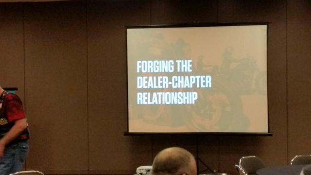 4th class - forging dealer-chapter relationship