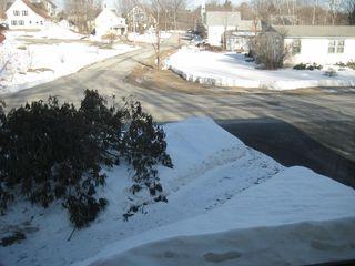 Snow backyard 3-28-15-2
