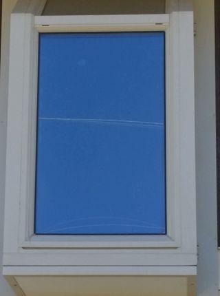 Window treatment on inside
