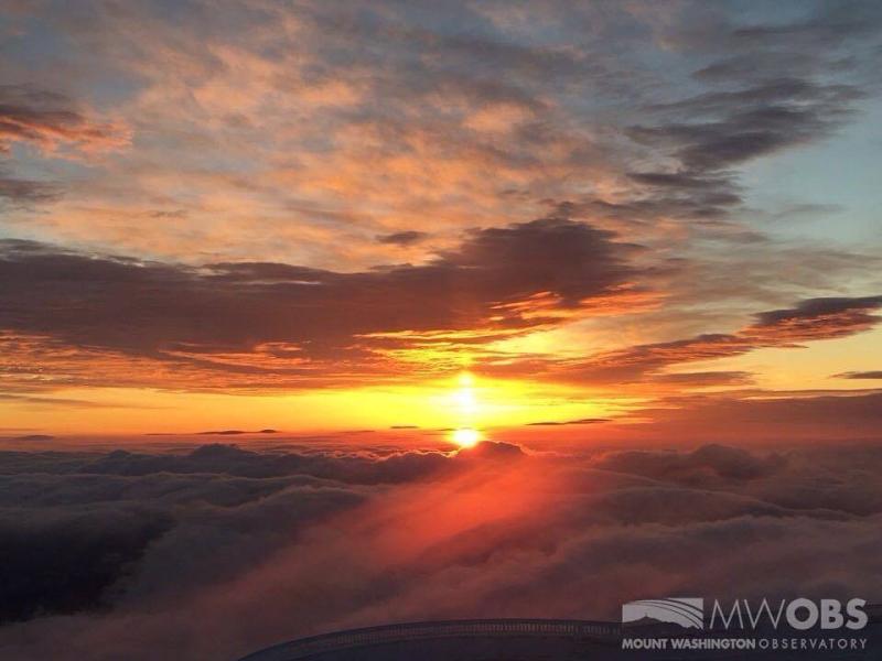Mount Washington sunrise 3-25-17