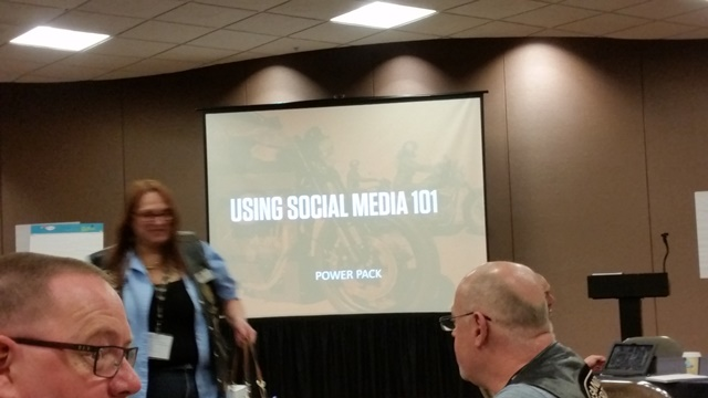 3rd class powerpack - using social media