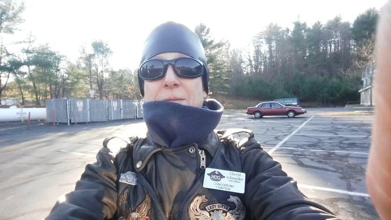 Selfie - last ride 12-4-17