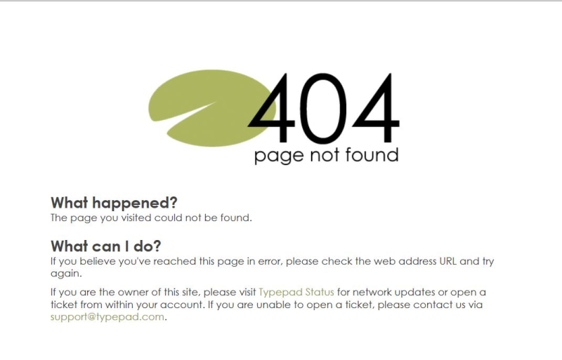 404 error from comment submital