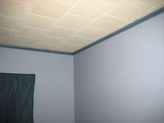 Bedroom crown molding