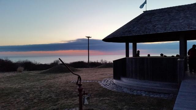 Sunrise service - before