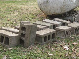 Cinder blocks cleaned