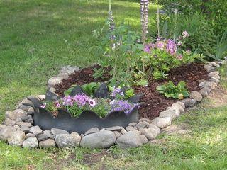 Side flower garden 1