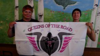 Me and Rachel with QOTR Mascot