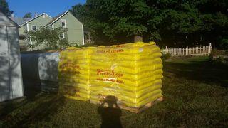 Two tons Presto Log Pellets