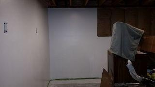 1st coat paint