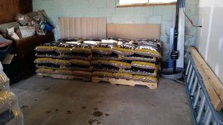 2 tons okies in garage