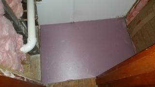 Floor foam