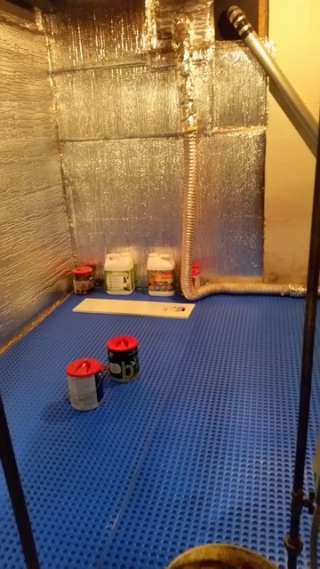 Basement floor w air gap-trnd