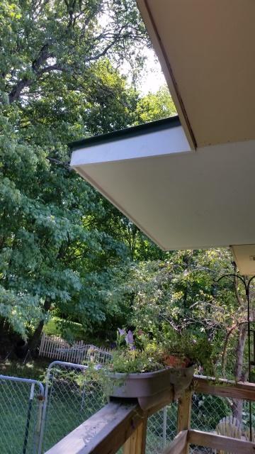Back porch overhang close-trnd