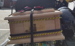 Jacks box prior to procession