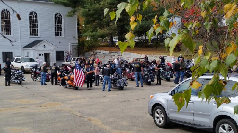 Bikes at church-lower lot