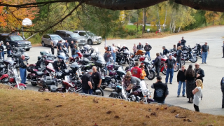 Bikes at church-lower lot
