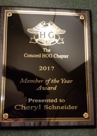 HOG Member of the year 2017