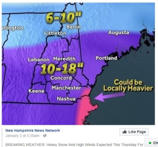 NH1 forcast for 1-4-18
