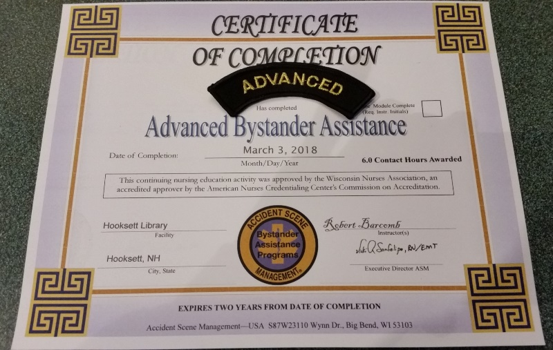 Advanced cert and patch
