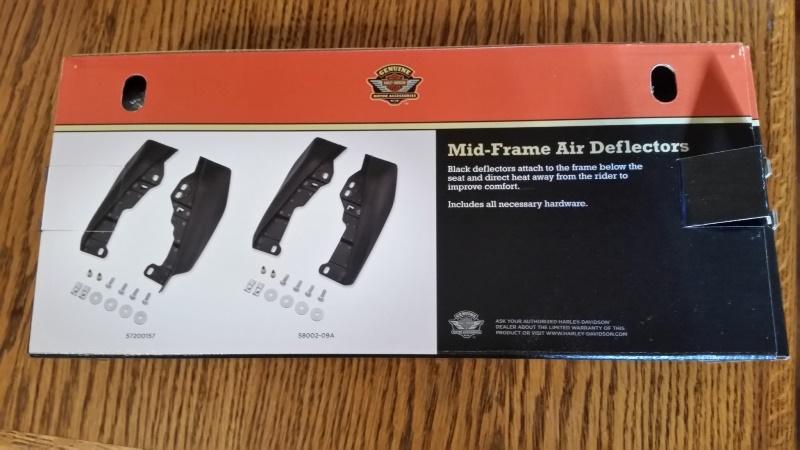 Heat deflector box