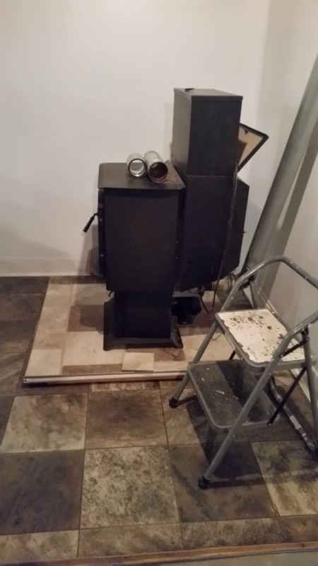 Stove moved with pipe - trnd