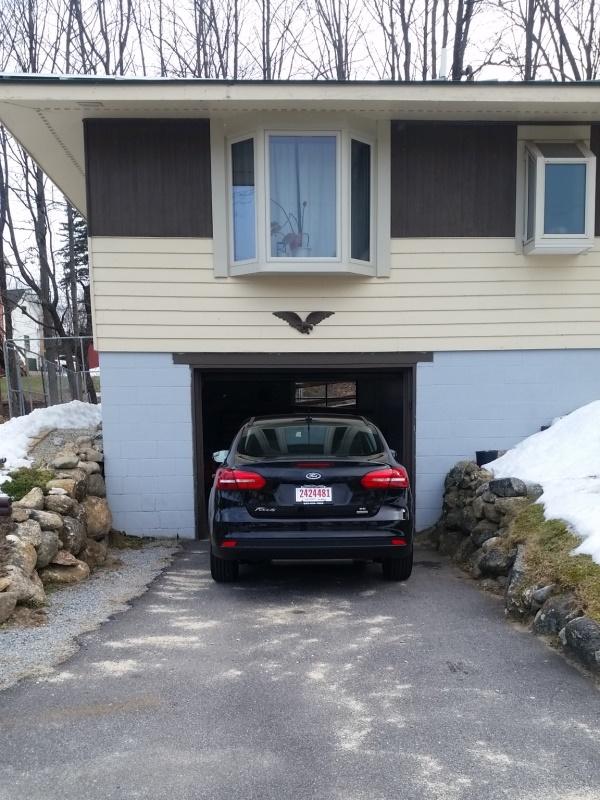 Car close fit garage 1-trnd