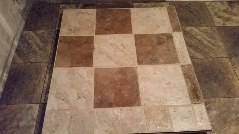 Tile grouted 2