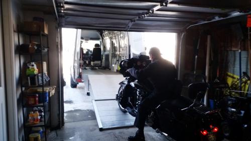 Bike start up ramp