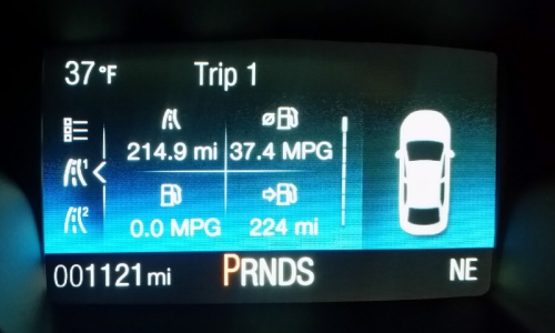 Car milage 2-6-19