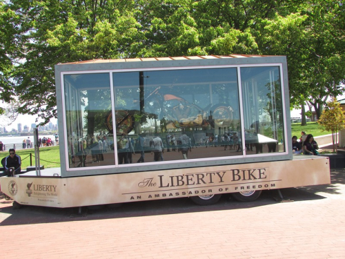 Liberty Bike on SOL island