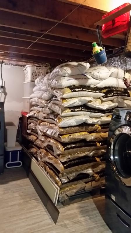 105 pellets by dryer (7 per row)-trnd
