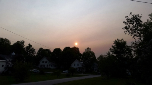 Hazy sun 5-31-19 2