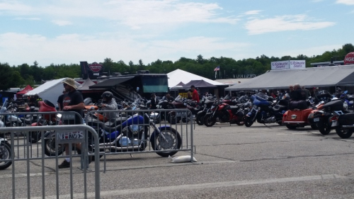 Bikes at new hampshire motor speedway