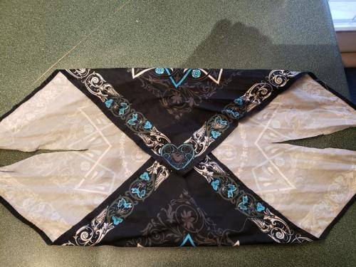 Cuts in bandana