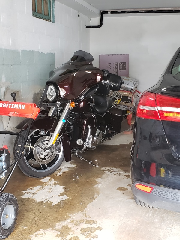 Bike is back in town - in garage-trnd