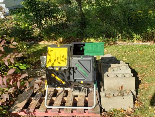 New Double Compost Bin - MiracleGrow