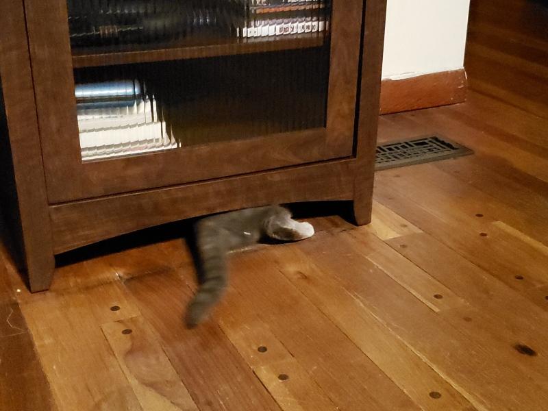 Spot under AV Cabinet 4